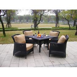 越秀编藤桌椅、如典、花园别墅编藤桌椅图片