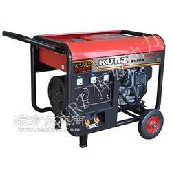 库兹野外专用300安汽油发电焊机一体机图片