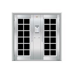 不锈钢非标门安装、烟台不锈钢非标门、丰华门业图片