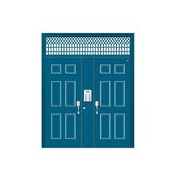 东昌府区铝合金单元门|丰华门业(在线咨询)|铝合金单元门安装图片