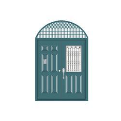 寿光铝合金单元门|铝合金单元门报价|丰华门业(多图)图片