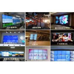 新疆液晶拼接屏,晶安电子,液晶拼接屏报价图片