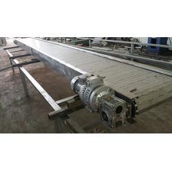 链板输送机|庆泽网带|重型链板输送机图片