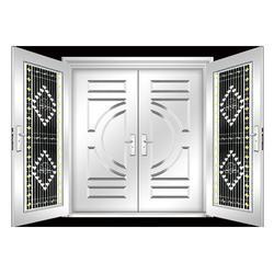 不锈钢门,肥城不锈钢门,丰华门业图片
