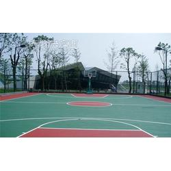 環保塑膠籃球場材料圖片