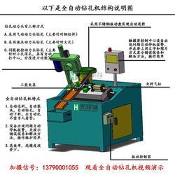 小型钻孔机、博鸿机械、晋江钻孔机图片