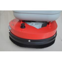 泰安洗地机-山东全自动洗地机-自动洗地吸干机图片