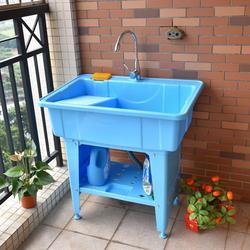 不晃动塑料洗菜盆-阿里塑料洗菜盆-广东金友春塑业图片