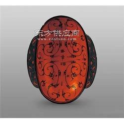 西汉战国漆耳杯模型图片