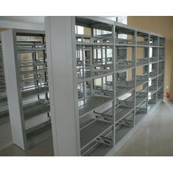 图书馆钢制书架|安徽钢制书架|合肥卓辰图书架图片