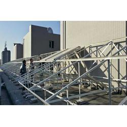 洗浴中心太阳能热水工程、山西乐峰科技、阳泉太阳能热水工程图片