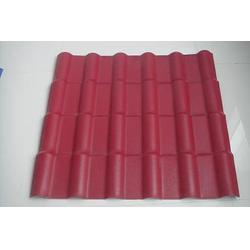 pvc塑料瓦树脂瓦-树脂瓦-潍坊宏兴(查看)图片