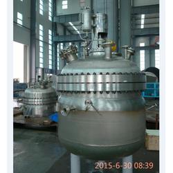 不锈钢反应釜 标准|润圣化机(在线咨询)|平阴不锈钢反应釜图片