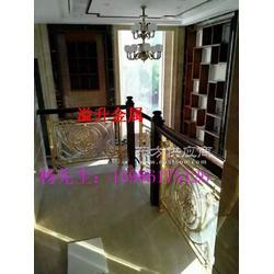 电镀k金铝板雕刻雕花装饰楼梯护栏图片