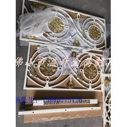艺术铝镁合金制作立体楼梯护栏图片