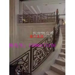 弧形护栏制作 美式乡村别墅护栏扶手装饰图片