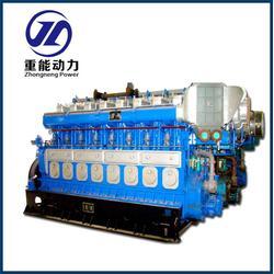 重油发电、重能动力、重油发电机厂图片