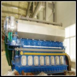 天然气发电机组,重能动力,1500kw天然气发电机组图片