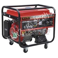 带电机5kw汽油发电机图片
