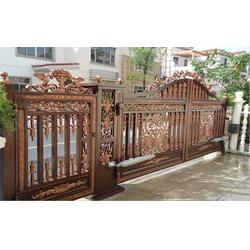 淮安别墅铝艺栏杆、别墅铝艺栏杆费用、陆欧铁艺(优质商家)图片