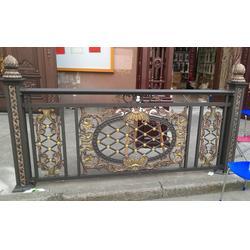 铝艺大门型材、陆欧铝艺大门、马鞍山铝艺大门图片