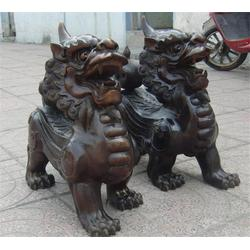 风水铜貔貅铸造-唐县旭升铜雕(在线咨询)-吉林风水铜貔貅图片