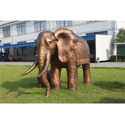 铜大象、旭升铜雕、铜大象图片