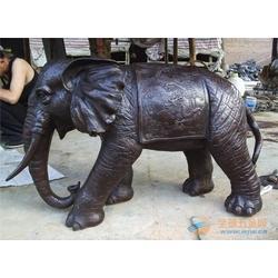 铜大象、河北旭升铜雕、现货供应铜雕大象图片