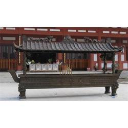 寺院铜香炉铸造 湖南寺院铜香炉 旭升铜雕厂
