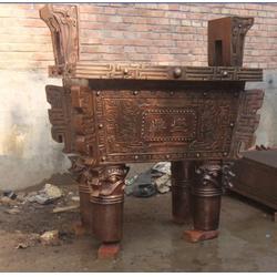 铜雕鼎厂家图片