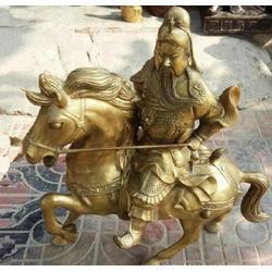 铸铜关公像报价-铸铜关公像-旭升雕塑厂(查看)图片