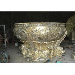 铜大缸_旭升铜雕_铸铜大缸生产厂家图片