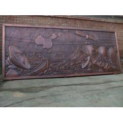 内蒙古铸铜浮雕、旭升铜雕、铸铜浮雕厂家图片