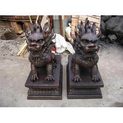 广东铸铜麒麟雕塑定做报价_广州铸铜麒麟雕塑定做_旭升铜雕图片