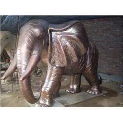 东北铜雕大象铸造厂家报价_旭升铜雕_吉林铜雕大象铸造图片