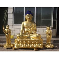 旭升铜雕(图),广东大型寺庙铜佛像生产厂,广州大型寺庙铜佛像图片
