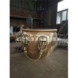 海南铜缸哪家好-旭升铜雕图片