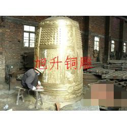 仿古铜钟报价-仿古铜钟-旭升雕塑厂(查看)图片