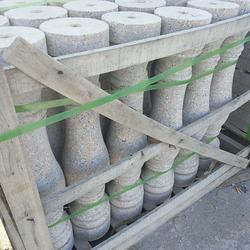 五莲红花瓶柱哪家好、五莲红花瓶柱、中兴石材图片