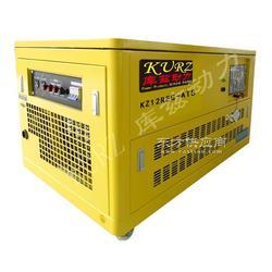 静音箱品牌18千瓦汽油发电机图片