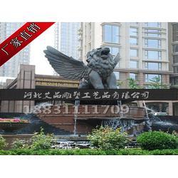 汇丰狮铜雕塑厂家|山西汇丰狮铜雕塑|艾品雕塑图片