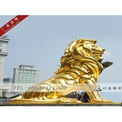 定做飞狮铜雕塑,景观雕塑,石家庄飞狮铜雕塑图片