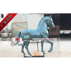 動物雕塑 定制銅馬雕塑-石家莊銅馬雕塑圖片
