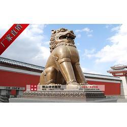 艾品雕塑(图)|铜狮子雕塑|云南铜狮子雕塑图片