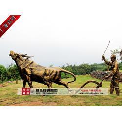定制铜牛,河南铜牛,艾品雕塑图片