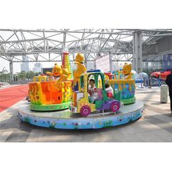 旋转类维尼熊转杯-荥阳三和游乐设备厂-漯河维尼熊转杯图片