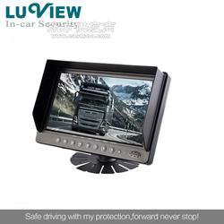 厂家9寸高清液晶2路显示器,高清液晶显示器倒车监控图片