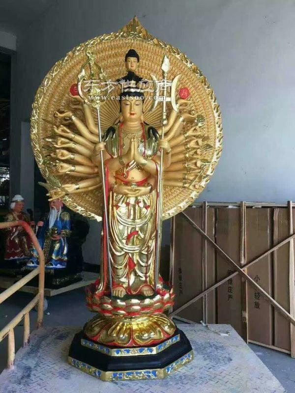 铜佛像制作,旭升铜雕,鄂尔多斯铜佛像制作厂家图片