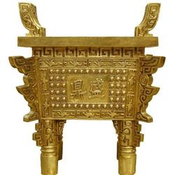 唐县旭升铜雕(查看)、青铜器铜鼎报价图片