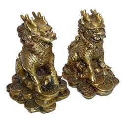 旭升铜雕(多图)|铸铜麒麟雕塑厂家|吉林铸铜麒麟雕塑图片